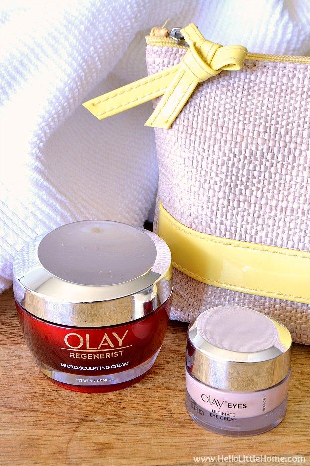 Photo of Olay Regenerist Micro Sculpting Cream and Olay Eyes Ultimate Eye Cream