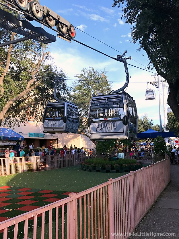 Skyway at the State Fair of Texas | Hello Little Home