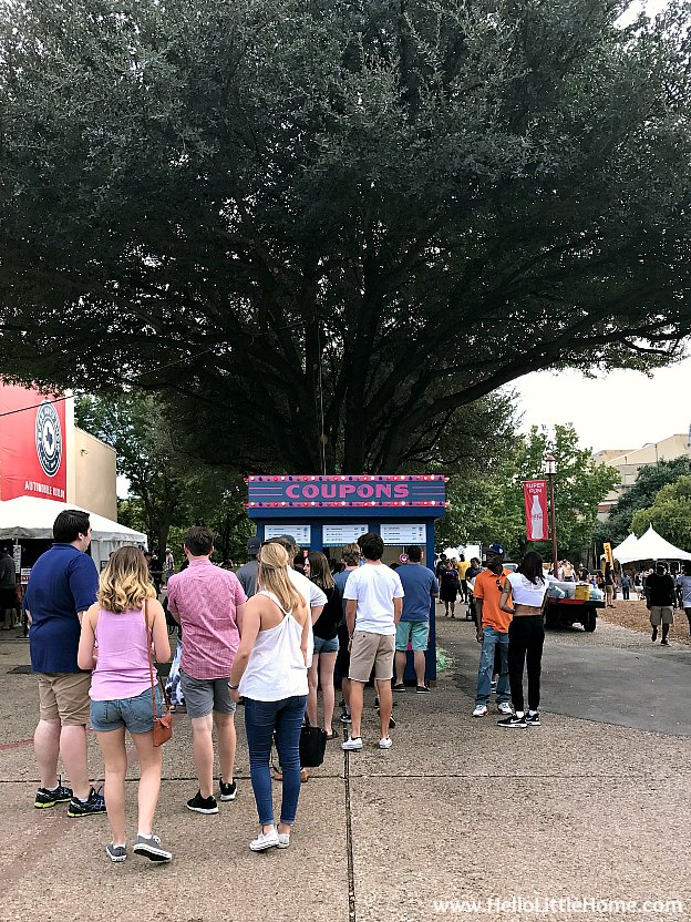 Ticket booth at the State Fair of Texas | Hello Little Home