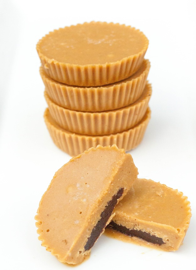 Inside Out Peanut Butter Cups from Serve From Scratch ... one of 100+ Vegetarian Comfort Food Recipes | Hello Little Home