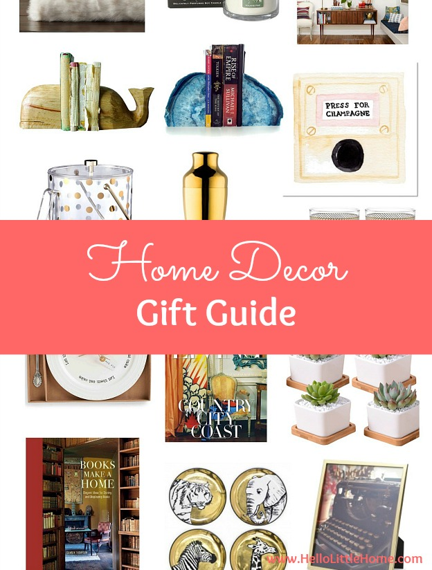 Lovely Home Decor Gift Ideas Part - 14: Home Decor Gift Guide ... The BEST Home Decor Gift Ideas To Buy!