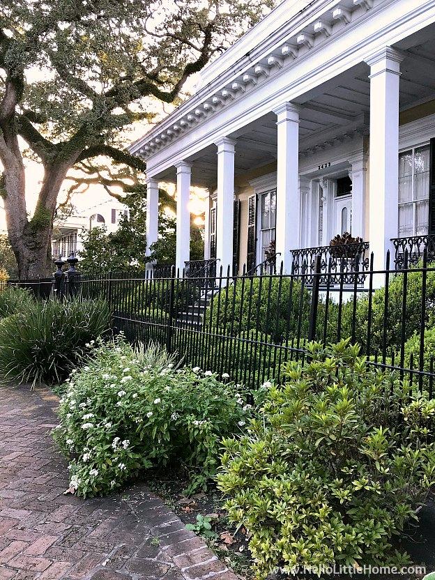 Adam Jones House in New Orleans Garden District