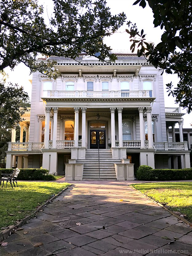 Bradish Johnson House in NOLA's Garden District