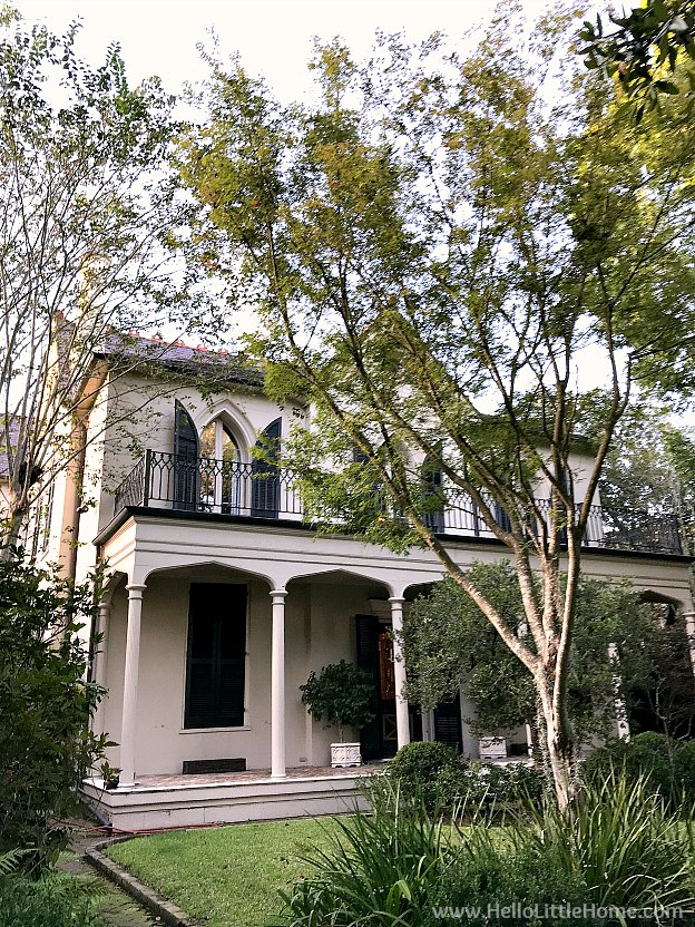 Briggs Staub House in New Orleans Garden District