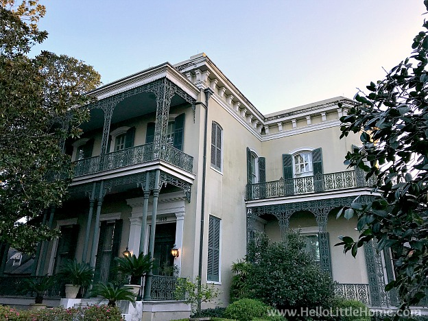 Colonel Short's Villa in New Olreans Garden District