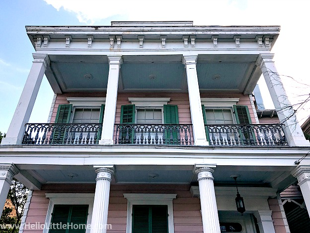 Goldsmith Godschaux House in the Garden District in New Orleans