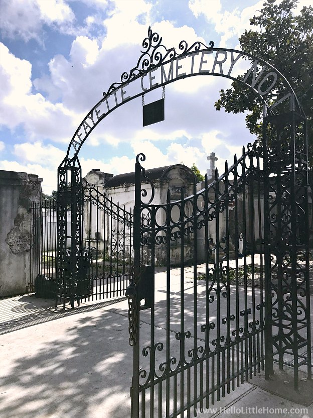 Lafayette Cemetery No 1 in the Garden District New Orleans