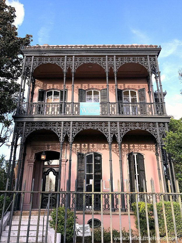 Morris Israel House in the Garden District New Orleans