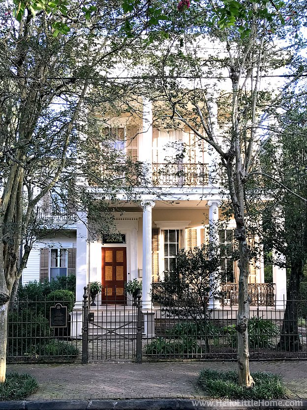 The Manse Home in the Garden District