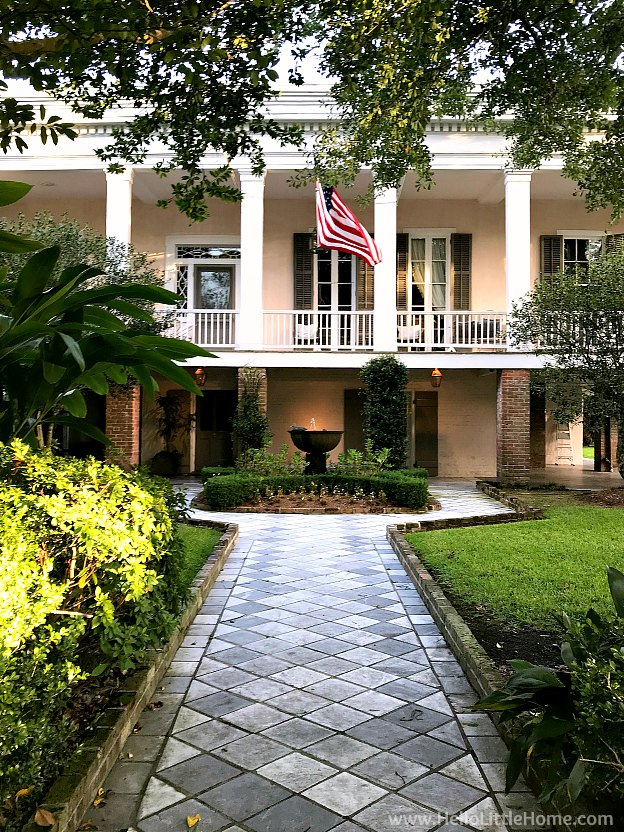 Toby's Corner, the Oldest House in the Garden District