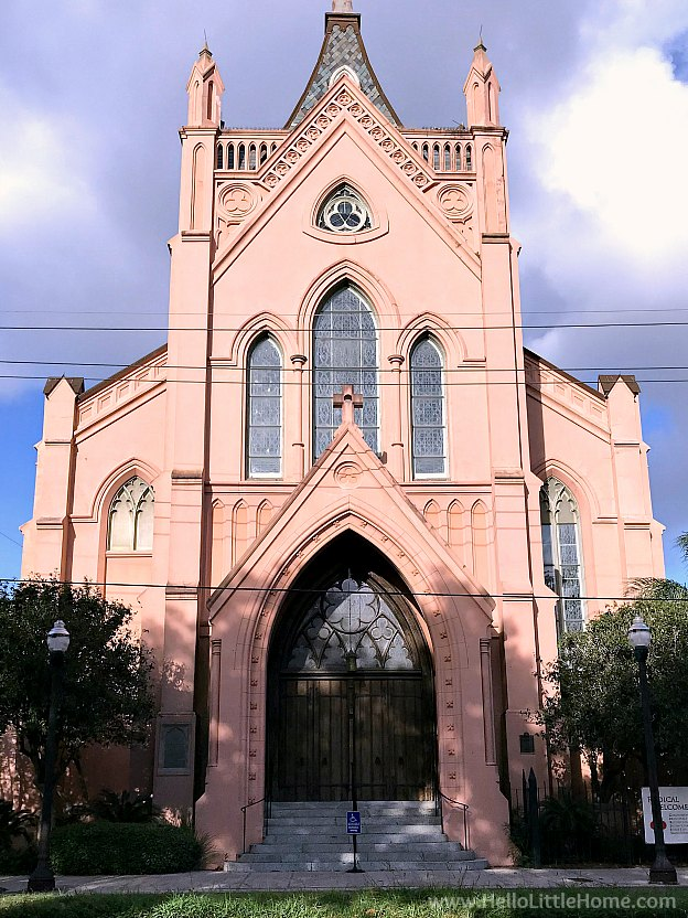 Trinity Episcopal Church in the Garden District New Orleans