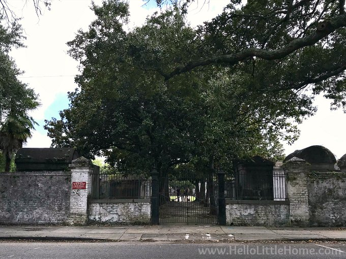 Sixth Street Gate at Lafayette Cemetery No. 1