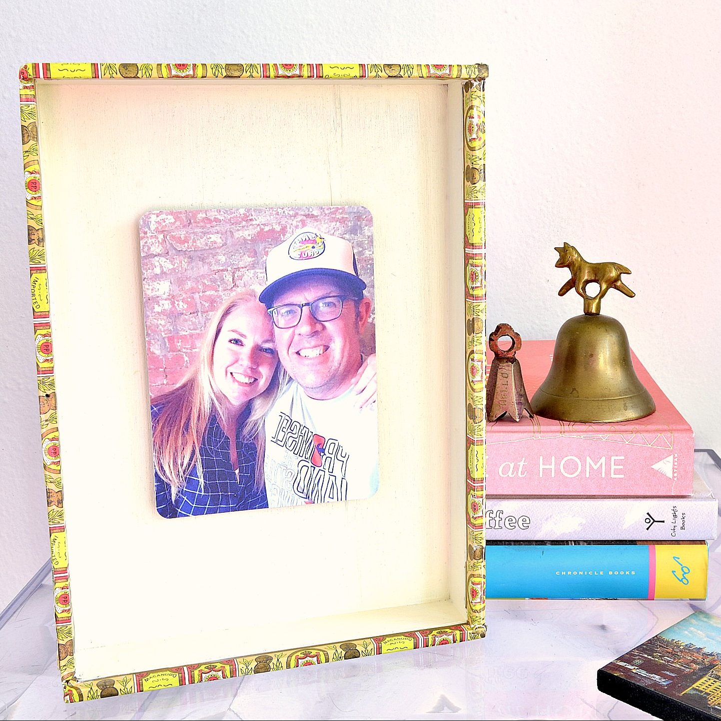 DIY Cigar Box Photo Frame