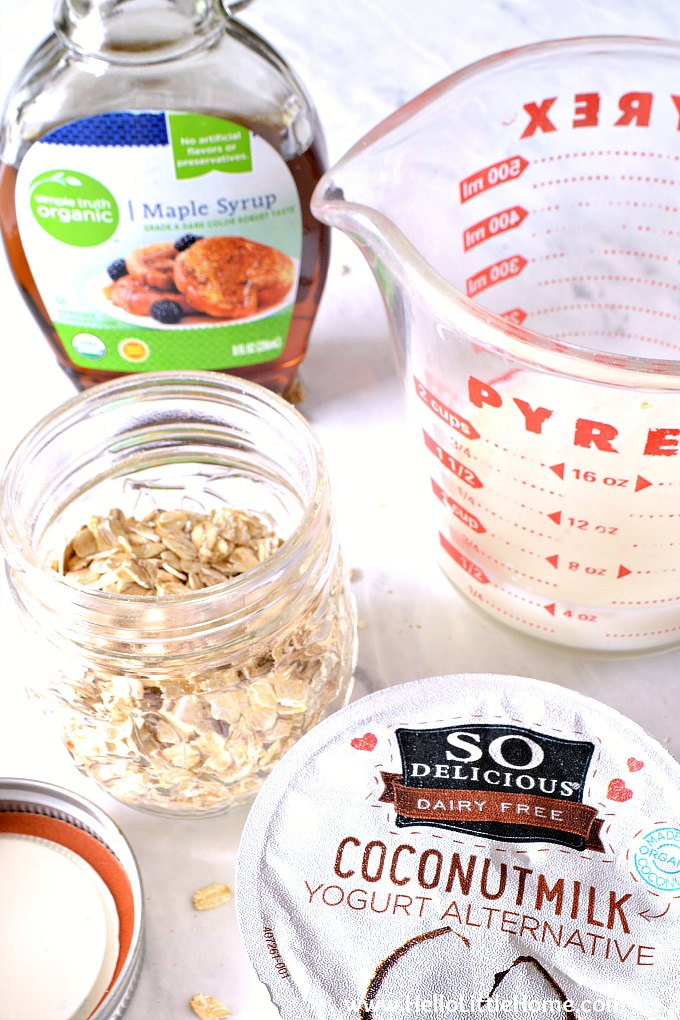 How to Make Overnight Oats Vegan