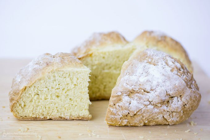 Traditional Irish Soda Bread Recipe from 5 Minutes for Mom