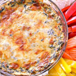 Mexican Baked Spinach Dip Recipe
