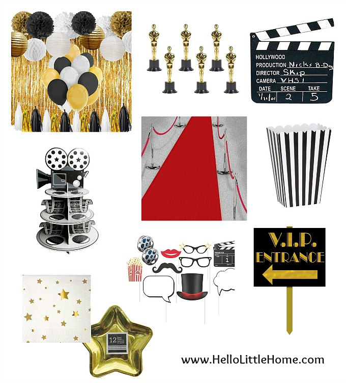 Free Printable 2018 Oscar Ballot | Hello Little Home