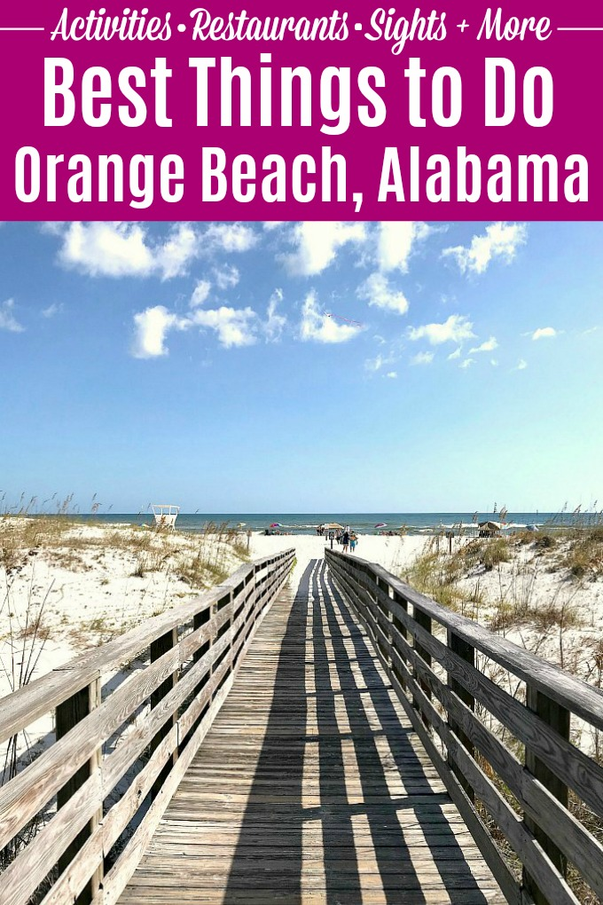 Best things to do in Orange Beach, AL! Wondering what to do in Orange Beach, Alabama? This travel guide is full of Orange Beach vacation ideas, from restaurants to attractions to hotels / where to stay on the Gulf Coast! Lots of activities for enjoying an Orange Beach trip on a budget from finding shells on the beach to biking the Hugh S. Branyon backcountry trail to shopping at The Wharf! | Hello Little Home #orangebeach #beachvacation #thingstodoinorangebeach #visitalbeaches #mygulfstatepark