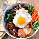 Vegetarin Bibimbap Recipe.