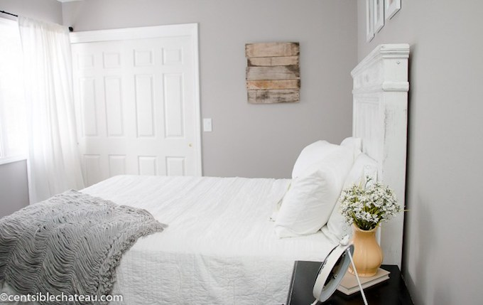 Farmhouse Style Bedroom Makeover from Centsible Chateau