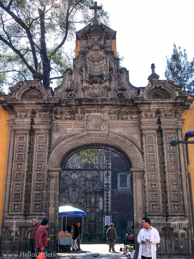 Church of San Francisco in Mexico City's Historic Downtown.