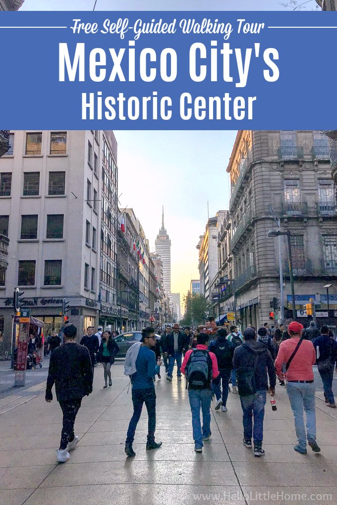 Looking for things to do in Mexico City? The Historic Center of Mexico City is a must! Take a free self-guided walking tour of Mexico City's Centro Histórico to see the Zócalo, National Palace, Templo Mayor, Palacio de Bellas Artes, cathedrals, historic architecture + more! This CDMX travel guide is for you if you're wondering what to do in downtown Mexico City. Free printable map! | Hello Little Home #mexico #mexicocity #cdmx #FoundInMexico #VisitMexico #mexicocityitinerary #wanderlust
