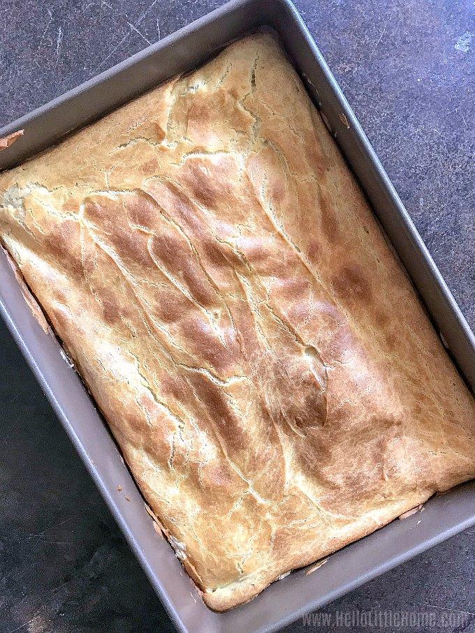 Baked Danish Puff.