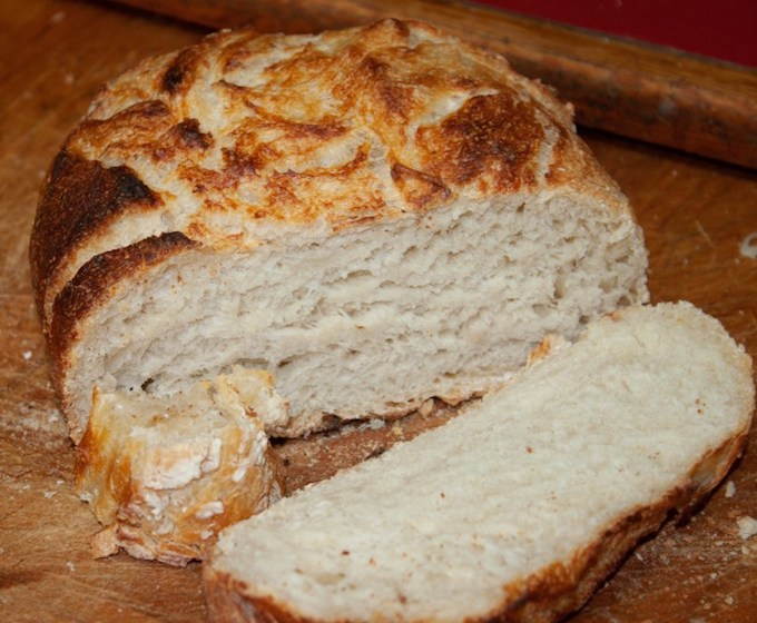 Rustic Sourdough Bread from The Lazy Gastronome
