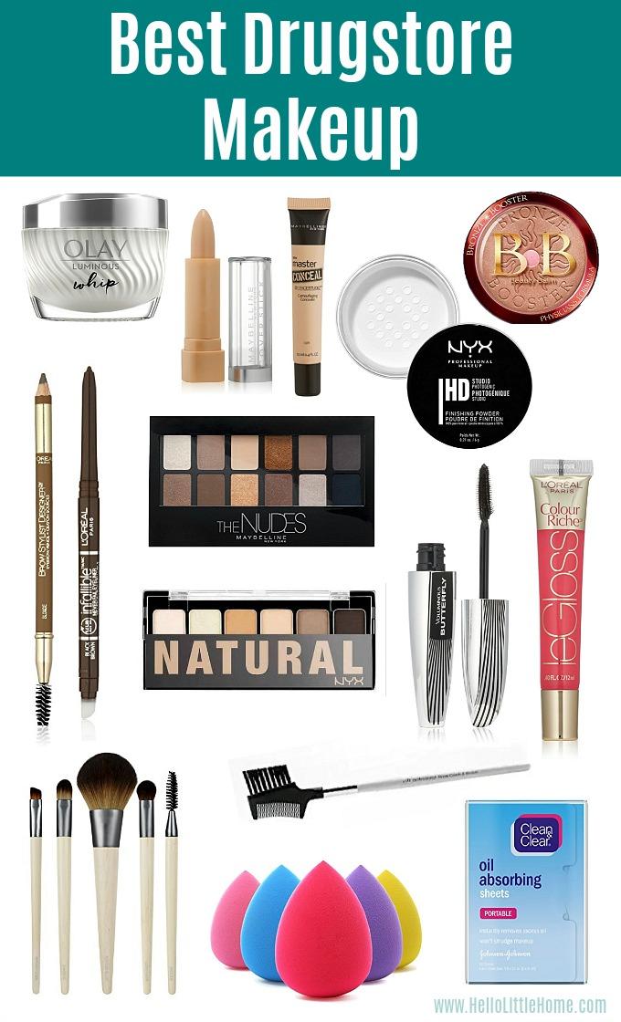 Best Drugstore Makeup Must Haves