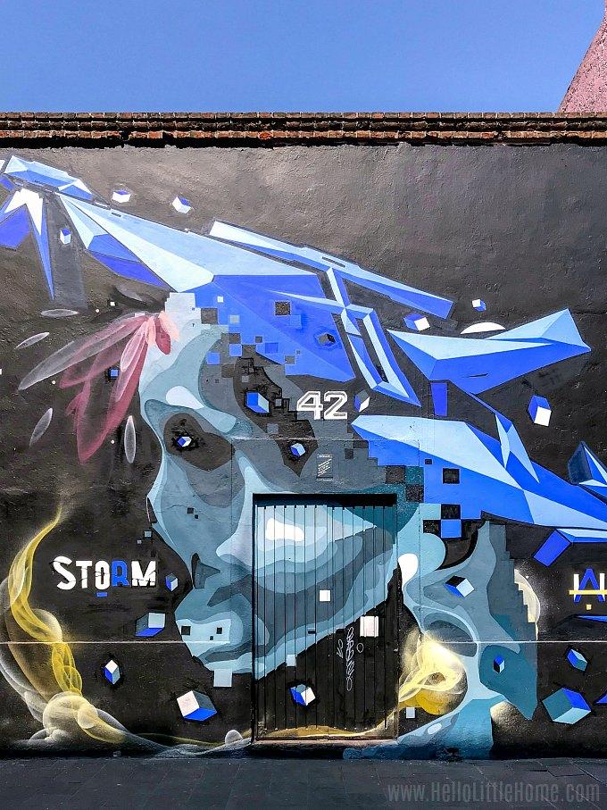 Calle Regina Street Art in Mexico City