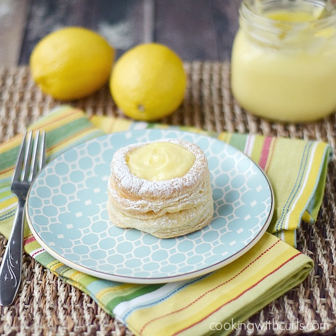 Lemon Curd Tarts from Cooking with Curls