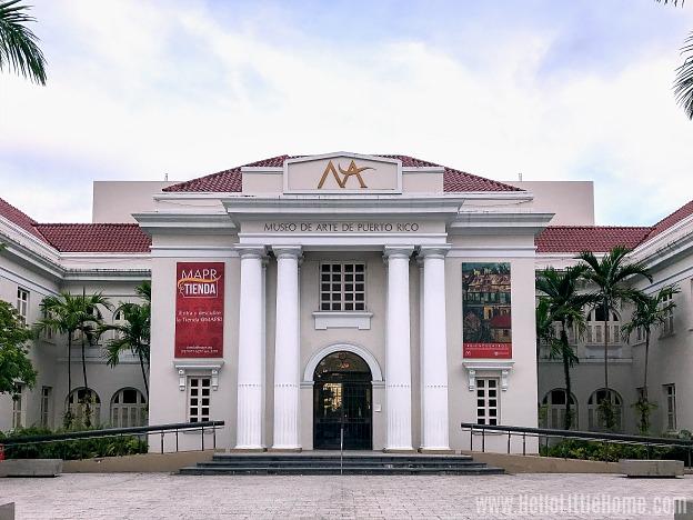 The Museo de Arte de Puerto Rico in San Juan.