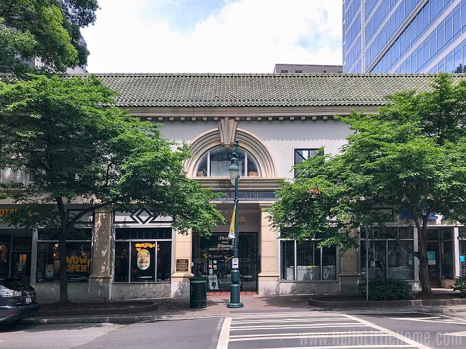 The Latta Arcade and Brevard Court in Downtown Charlotte.