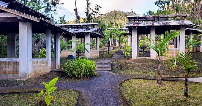 Picnic Shelters at the Rio Sabana Day Use Area in El Yunque