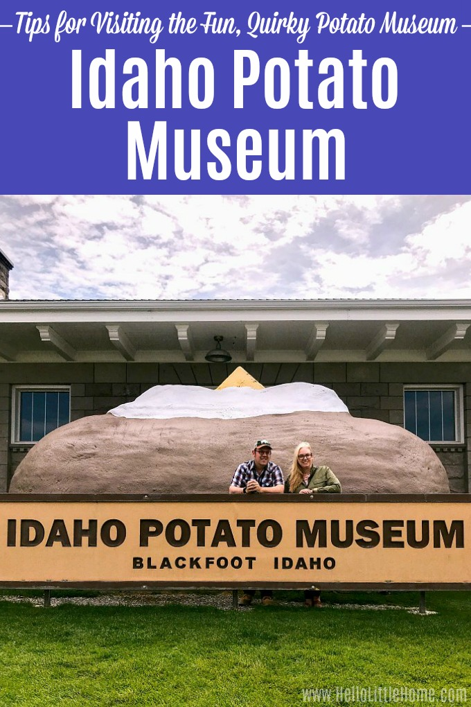 The exterior of the Idaho Potato Museum.