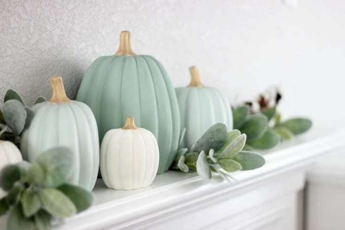 Make Your Own Painted Pumpkins from Gluesticks