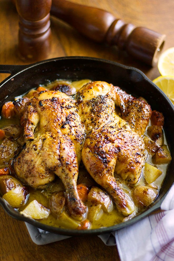 Roast Chicken Recipe from Munaty Cooking
