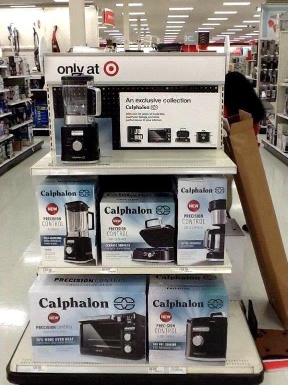Calphalon appliances at Target.