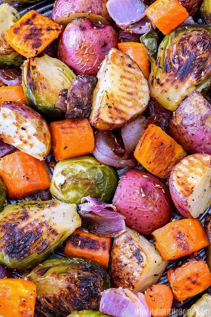 How to Roast Vegetables in the Oven.