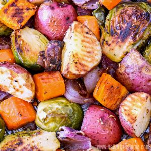 How to Roast Vegetables.