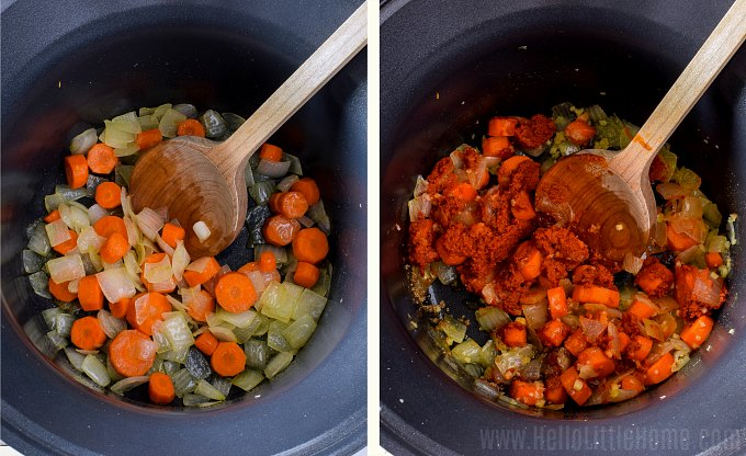 Slow Cooker Vegetable Curry Hello Little Home