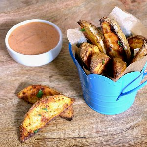 Roasted Vegetable Recipes Idea: Old Bay Roasted Potato Wedges
