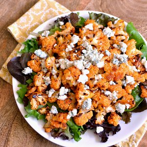 Roasted Vegetable Recipes Idea: Spicy Buffalo Cauliflower Bites