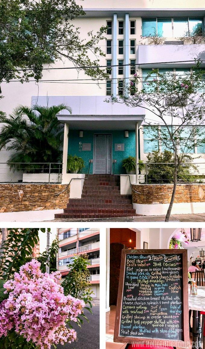 Things to see in Miramar, part of Santurce, Puerto Rico.