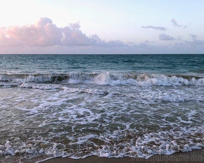 Santurce, Puerto Rico's popular Ocean Park Beach.