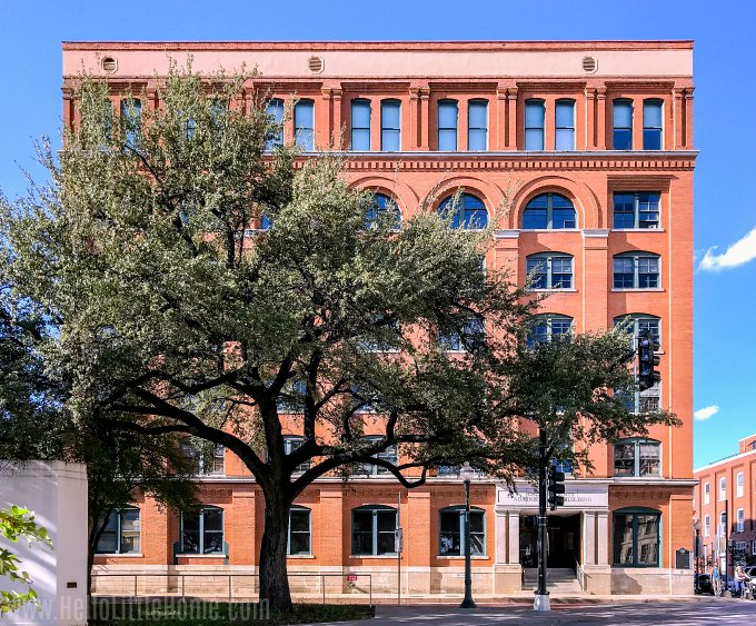 The Texas School Book Depository and 6th Floor Museum in Downtown Dallas.