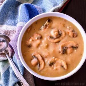 Vegetarian Mushroom Gravy Recipe