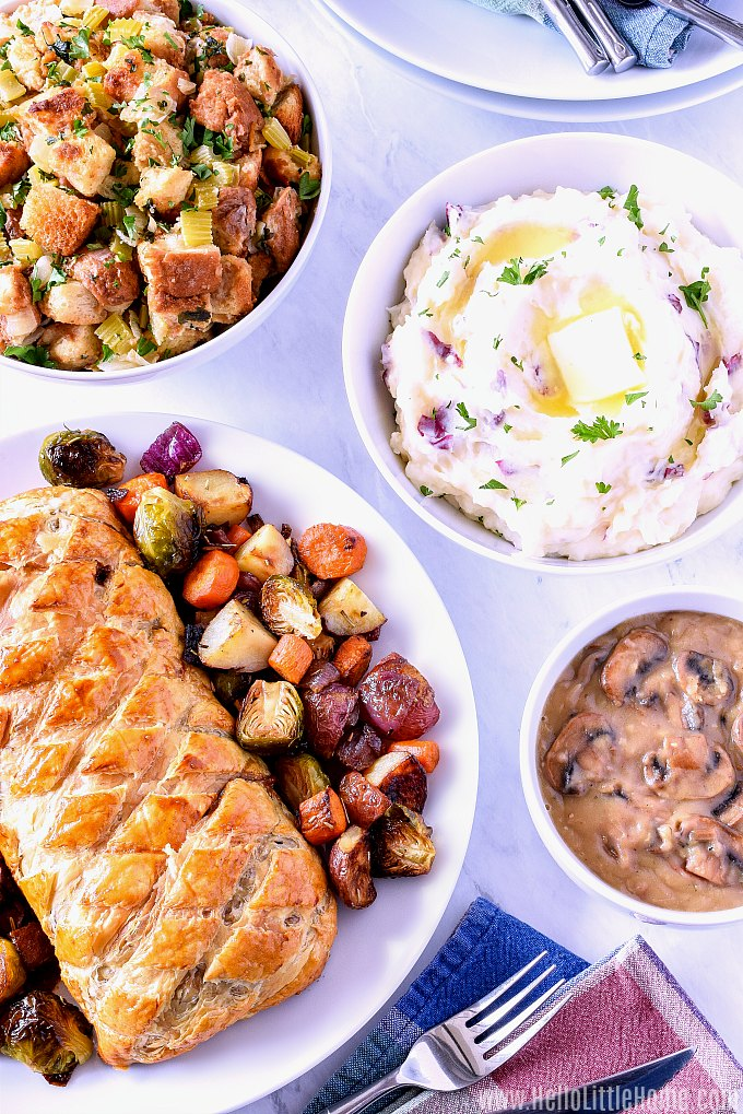A Vegetarian Thanksgiving Meal Plan