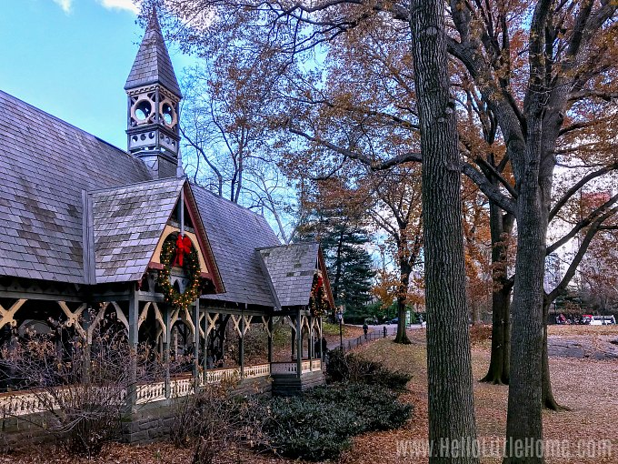 Christmas in NYC: The Dairy in Central Park