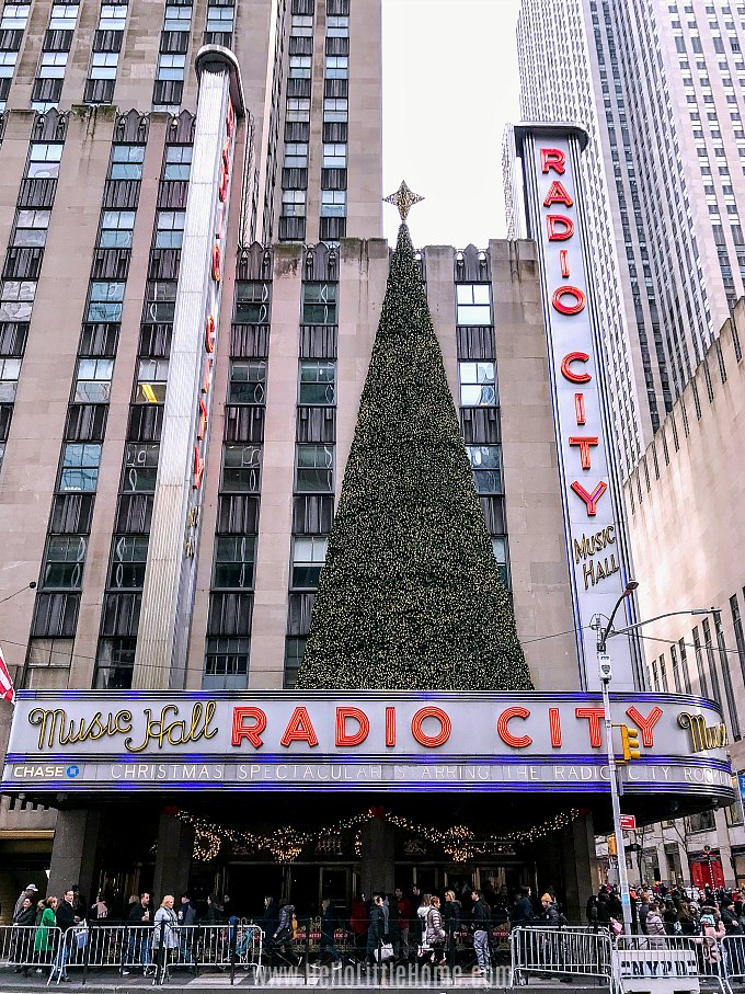NYC Christmas Shows: Rockettes Christmas Spectacular at Radio City Music Hall